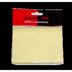 ΑΥΤΟΚΟΛΛΗΤΕΣ ΣΗΜΕΙΩΣΕΙΣ BLACK RED 76Χ76