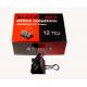 ΠΙΑΣΤΡΑ BLACK RED Νο 41 ΜΕΤΑΛΛΙΚΗ ΜΑΥΡΗ KOYTI 12 TEM