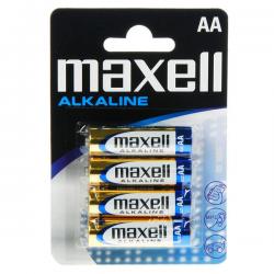 MAXELL ΜΠΑΤΑΡΙΕΣ ΑΛΚΑΛΙΚΕΣ LR06 AA BL. 4 ΑΔΑ