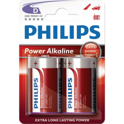 PHILIPS ΜΠΑΤΑΡΙΑ POWER LIFE D