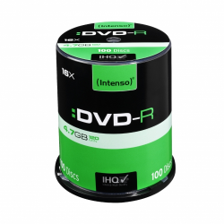 INTENSO DVD-R 4,7GB CAKE BOX 100