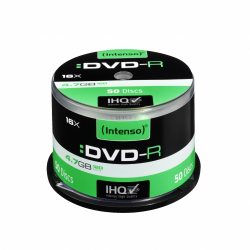INTENSO DVD-R 4,7GB CAKE BOX 50