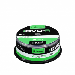 INTENSO DVD-R 4,7GB CAKE BOX 25