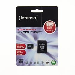 INTENSO 16GB Micro SD CLASS 10