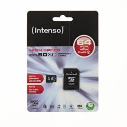 INTENSO 64GB Micro SD CLASS 10