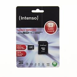 INTENSO 8GB Micro SD CLASS 10