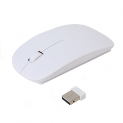 OMEGA MOUSE WIRELESS 414 1000DPI 2.4 GHz WHITE(42598)