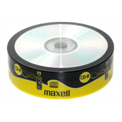 MAXELL CD-R 700 MB/80 Min SHRINK 25pcs