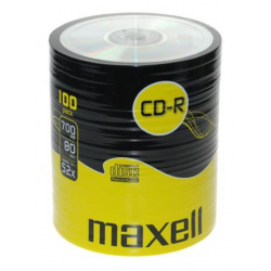 MAXELL CD-R 700 MB/80 Min SHRINK 100pcs