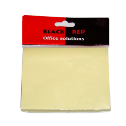 ΑΥΤΟΚΟΛΛΗΤΕΣ ΣΗΜΕΙΩΣΕΙΣ BLACK RED 76Χ102