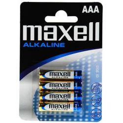 MAXELL ΜΠΑΤΑΡΙΕΣ ΑΛΚΑΛΙΚΕΣ LR03  AAA  BL. 4 ΑΔΑ